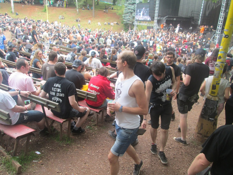 The metal masses